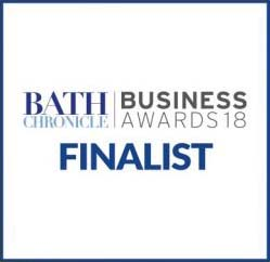 Bath Business Finalist of the year logo