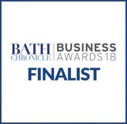 Bath Business Finalist of the year logo
